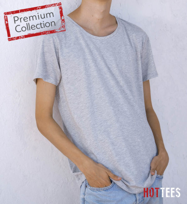 T-Shirt HotTees Men Round